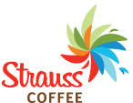 Strauss Coffee logo, link to home page