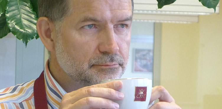 Jacek Guner General Manager Strauss Café Poland