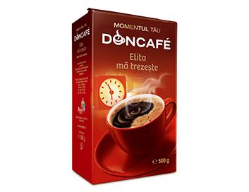Romania Brands Doncafe Strauss Coffee